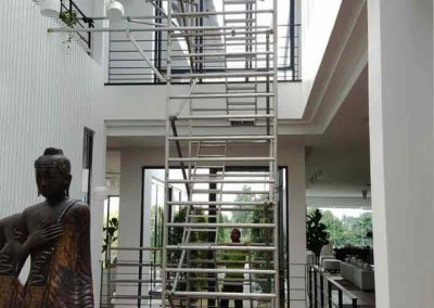 Aluminium Scaffold Tower for roof tinting