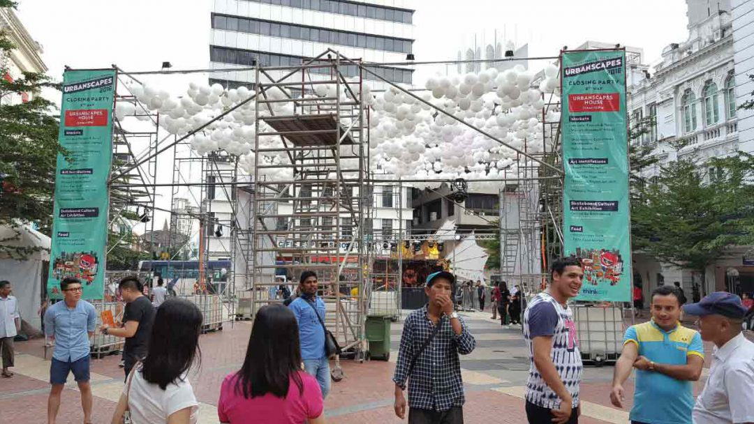 Event scaffolding