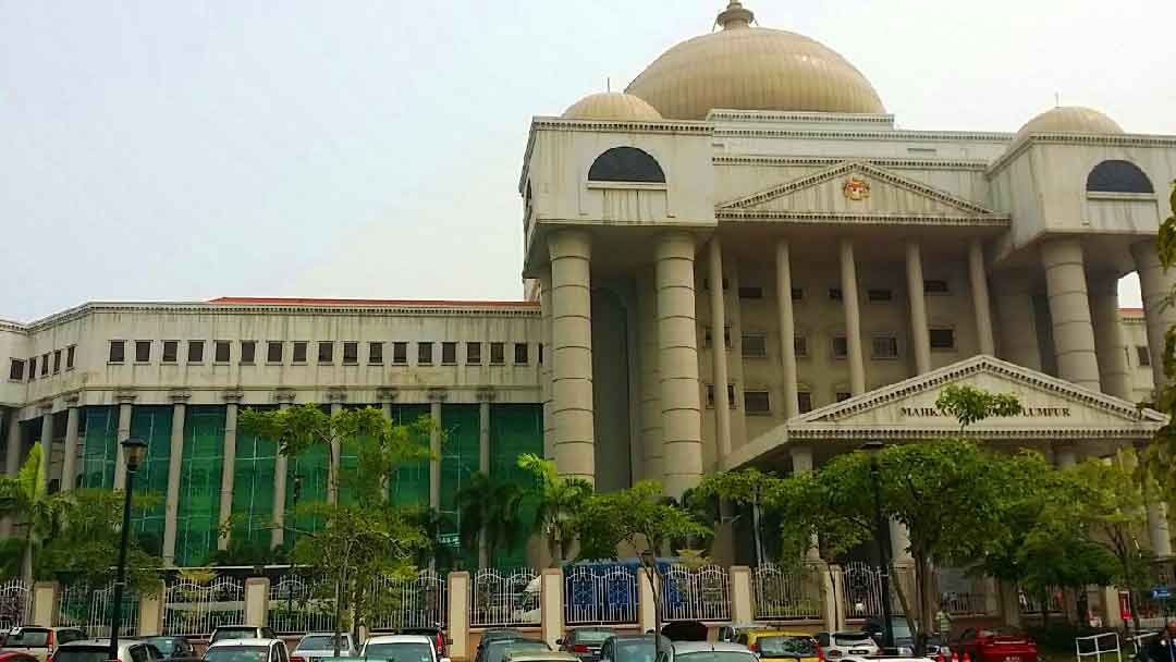 Scaffolding for Maintenance of Malaysia Court