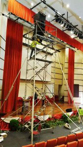 Steel-scaffold-tower