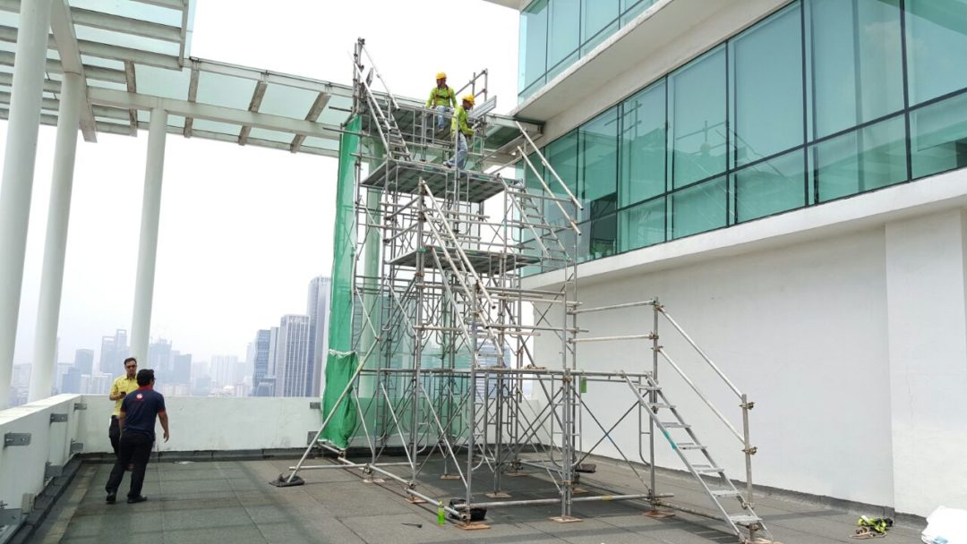 TS Scaffold Tower