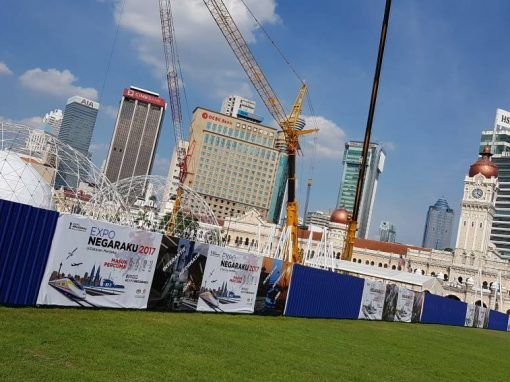 Scaffolding-based Hoarding for Negaraku Expo 2017