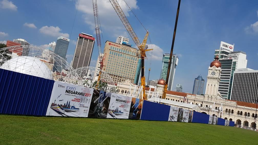 Scaffolding-based Hoarding for Negaraku Expo 2017